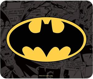 Mouse Pad Dc Comics Batman Logo Flexible Mousepad 9 1/8x7 7/8in ABYstyle