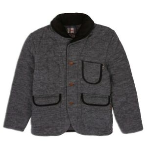 Sauveteur Veste Heather Black Denim Edwin EWzS7