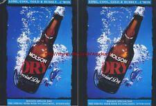Molson Dry Beer1993 Magazine Advert #2287