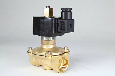 "Normal Open 2way2position 1"" Electric Solenoid Valve Water Air N/O 12 24 110 220"