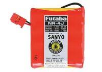 Brand Futaba Nr4j 600mah Flat 4.8 Volt 4.8v Receiver Rx Battery Futm1280