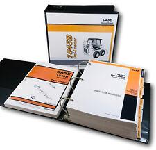 Case 1845b Uniloader Skidsteer Service Repair Shop Manual Parts Book Catalog Set