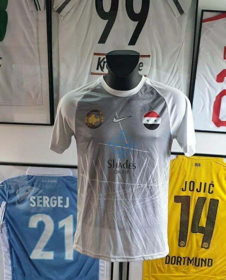 Maglia Camiseta Maglia Camisa Syria Siria Calcio Raro 2019 M