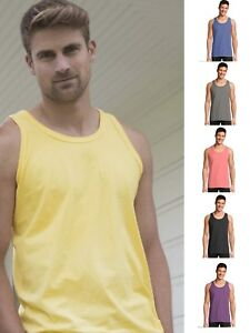 e0f5301be1c2f5 Hanes Men s Cotton Dyed Tank Top GDH300 -- BUY TWO GET ONE FREE ...