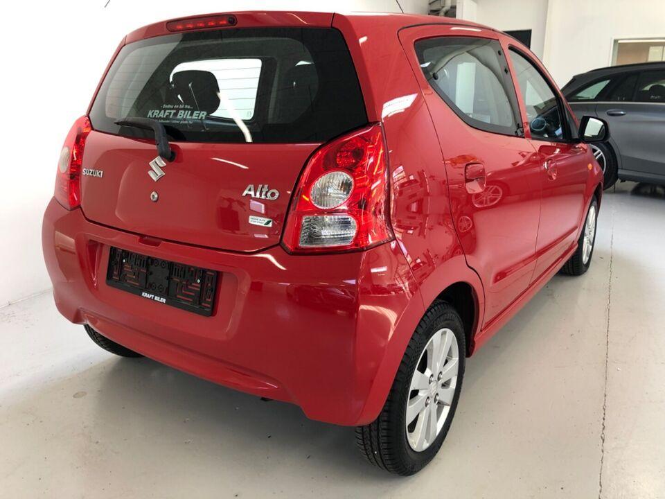 Suzuki Alto 1,0 GLX ECO+ Benzin modelår 2013 km 92000 Rød ABS