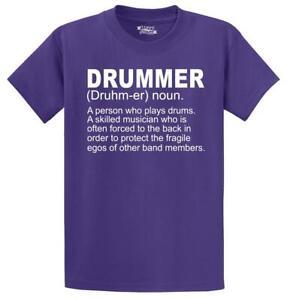 Mens-Drummer-A-Skilled-Musician-T-Shirt-Band