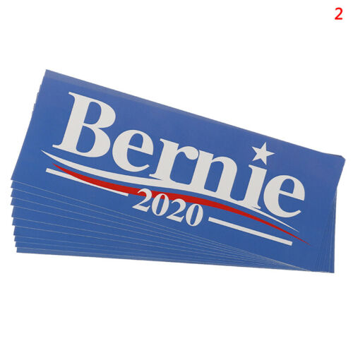 Election Bumper Sticker For Bernie Sanders 2020 Supporters Decorative Stick~JP