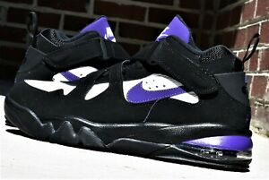 Details about NIKE AIR FORCE MAX CB New Men's Black Purple Charles Barkley Shoes AJ7922 004
