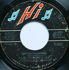 GREAT DEEP SOUL 45 GENE ANDERSON ON HI HEAR - IN D VERSAND KOSTENLOS AB 5 45S!
