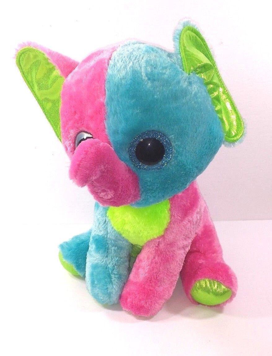 Jumbo Elfie Elephant Beanie Boo Plush Justice Exclusive Collectible Stuffed 15