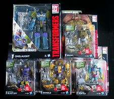 TRANSFORMERS COMBINER WARS G1 Combaticons / Bruticus Complete SET MISB