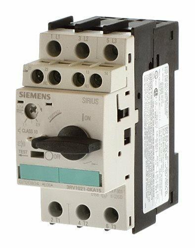 Siemens 3RV1021-0KA15 Leistungsschalter 0,9-1,25 A