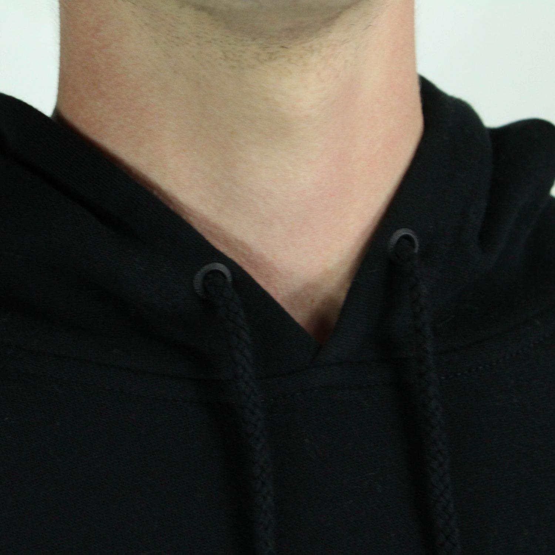 Sweat En Xl Équipe noir L Taille Sweat À Pull Huf S Capuche Logo M 8tna66