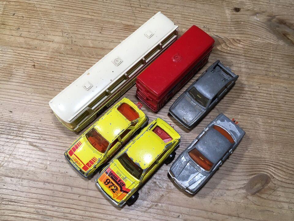 Legetøj, 6 metal legetøjsbiler