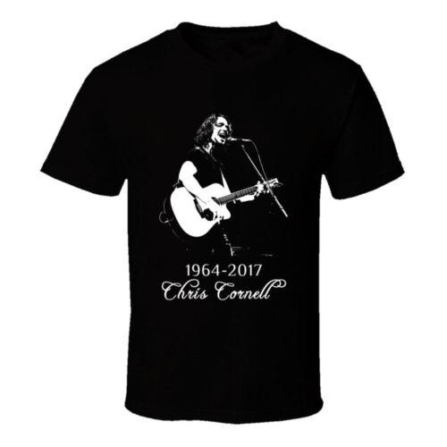 Chris Cornell 1964 2017 Fan/'s Tee Memorial Tshirt Men/'s T-Shirt Size S to 3XL