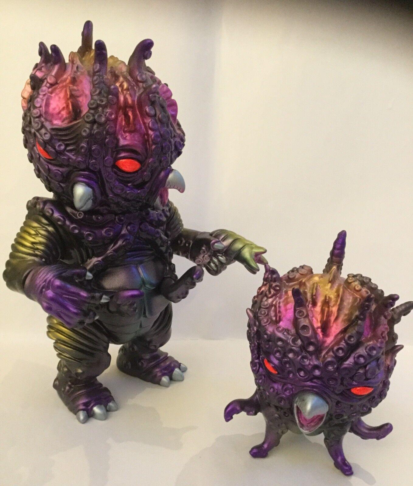 Paul  Kaiju HYPER Kraken Set sofubi MVH zollmen bemon  vendita calda