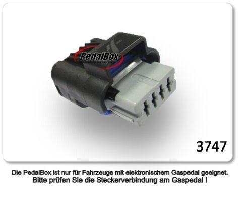 DTE Systems PedalBox 3S für Citroen C2 J bis 2005 1.1L 44KW Gaspedal Chip Tuning