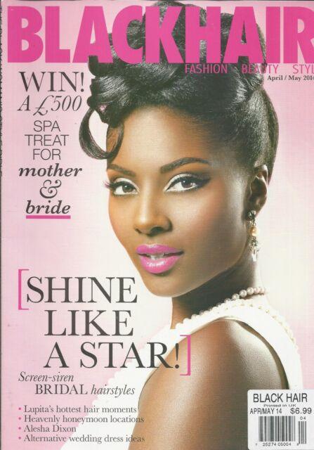 Black Hair Magazine Bridal Hairstyles Honeymoon Locations Wedding Dresses  2014