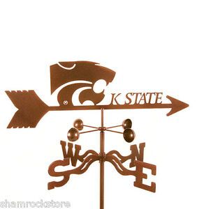 Kansas-State-University-Weathervane-Wildcats-with-Choice-of-Mount