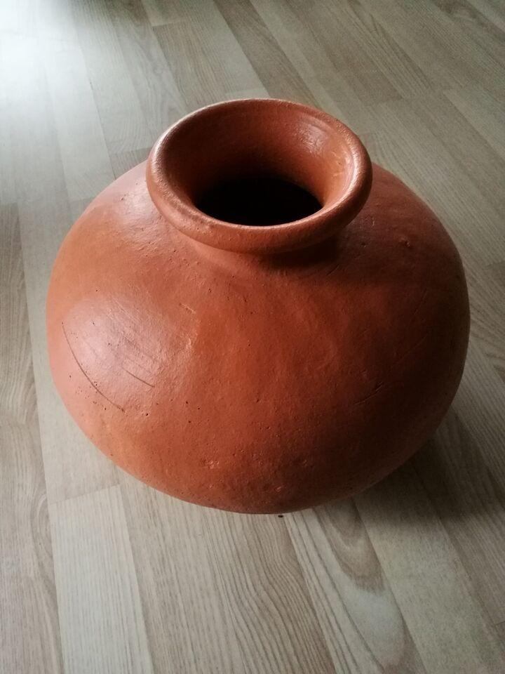 Gulvvase terracotta