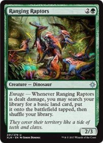 Ranging Raptors  Ixalan uncommon 4x MTG Magic The Gathering 4x