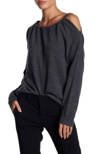 Cold Størrelse L Grå Vince Asymmetrisk Cashmere Shoulder Tunika 5zzRTq
