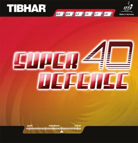 Sale Tibhar Super Defense 40 Table Tennis Rubber