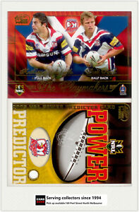2005-Select-NRL-Power-Predictor-Card-Playmaker-PM13-A-MINICHIELLO-B-FINCH