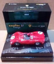 Ferrari GT 330 Vintage Exin Triang Scalextric SCX MSC OSC GOM Cartrix Reprotec