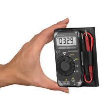 Mini Pocket Meter Digital Multimeter Auto Range Dc Ac Volt Ohm Portable Tester