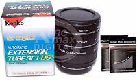 Kenko Auto Focus Extension Tube Set DG Macro for Canon EOS EF EFS Lens +FreeGIFT