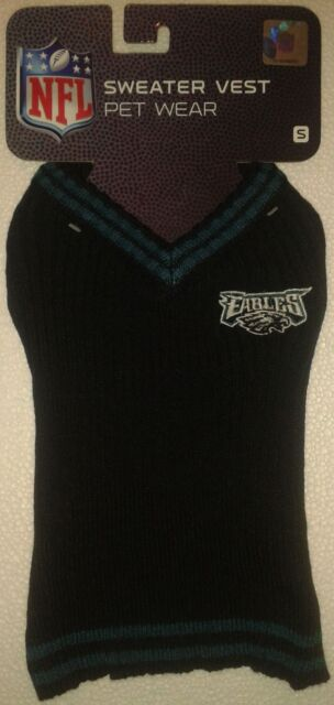 official photos cc009 af5a3 Pets First Phl-40121 Philadelphia Eagles Dog Sweater Xtra Small