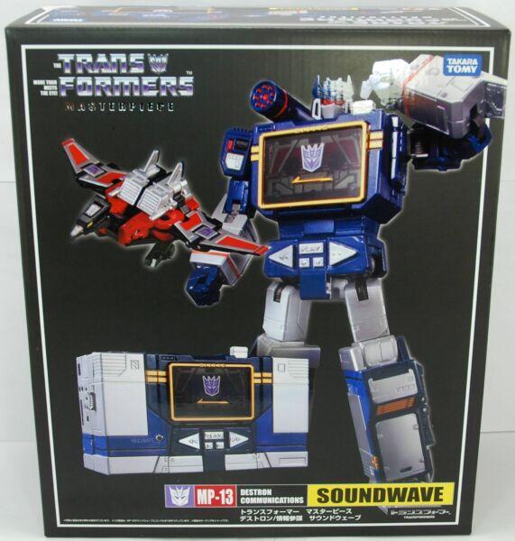 Transformers Masterpiece Soundwave cassettes MP-02 Hasbro Takara Tomy MP-42 NEW