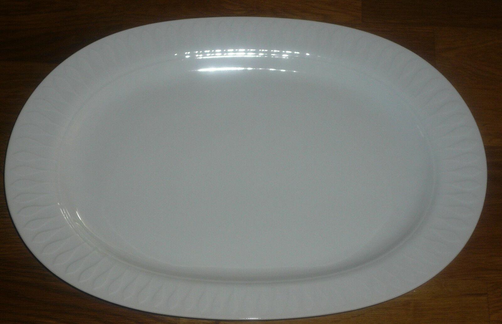 1 Servierplatte   Platte  33 33 33  cm   24 cm  Thomas  LANZETTE WEISS   | Vogue  534876