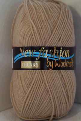 Woolcraft Wool New Fashion Chunky Wool Knitting Yarn 100g Ball Combined Postage