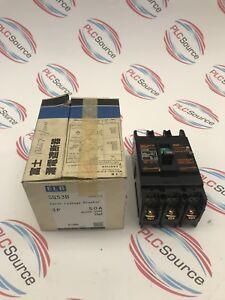 FUJI-ELECTRIC-SG53B-3P-50A-AC200-500V-30MA-EARTH-LEAKAGE-BREAKER