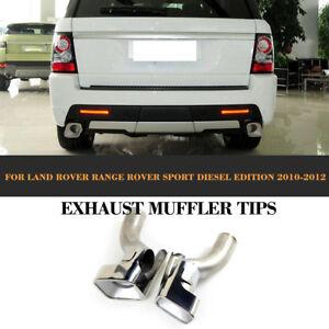Edelstahl Auspuffblende Endrohr Blende Edelstahl für Land Range Rover Sport