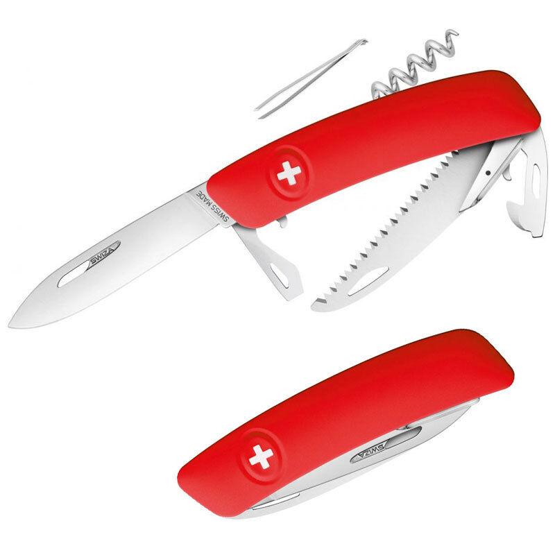 SWIZA D05 Schweizer Schweizer D05 Taschenmesser Säge, arretierte Klinge, 12 Werkzeuge, 110g ca84db
