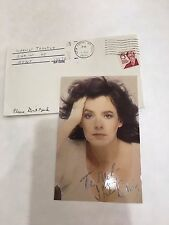 Stockard Channing Original Signed Autographed Index Photo Stock Card