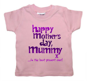 Dirty-Fingers-Happy-Mother-039-s-Day-Mummy-x-Baby-Girl-T-shirt