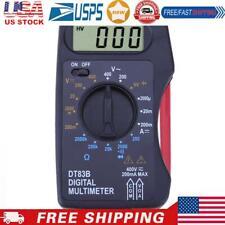 Portable Digital Multimeter Mini Pocket Ammeter Voltmeter Ohm Meter
