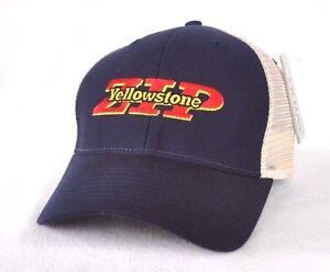 YELLOWSTONE ZIP  National Park Zip line Trucker mesh Ball cap hat ... db491d814440