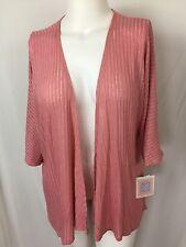 LulaRoe Lindsay Kimono Mauve Pink Size S/Small NWT Lightweight sweater