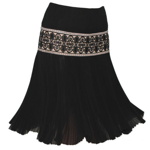 Nude Plissé Black It38 Skjørt Mcqueen Lace Uk6 Plissert Alexander Silk Elegant q1ZgRnxw6