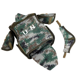 DAMTOYS 1//6 78062 UN Peacekeeping Operations Chinese Peacekeeper Tactical Vest