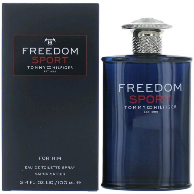 6395c50ad Tommy FREEDOM SPORT by Tommy Hilfiger Cologne edt men 3.4 oz 3.3 NEW in BOX