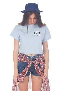 Korean V Pocket Crop Top Fashion Cute Tumblr Kpop Fangirl Bts Jungshook Ebay