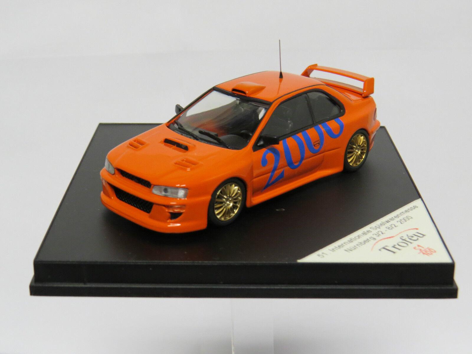 Subaru 51ste Inter Spielwarenmesse Nürnberg 2000 1 43 Troféu  51 100 limited  les promotions
