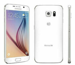 Samsung Galaxy S6 G920A | GSM Unlocked | 32GB White