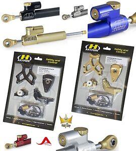 HYPERPRO  Lenkungsdämpfer Set CSC SUZUKI GSX-R1000 R1300 Hayabusa 01-06 08 ABE